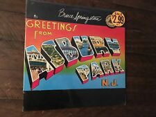 Bruce Springsteen Greetings From Asbury Park Vinyl Record Sale New Sealed