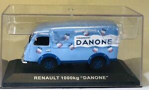 1:43 SCALE IXO: RENAULT 1000KG - DANONE - VAN - Superb model + case