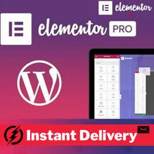 Elementor + Elementor PRO Theme Page Builder Premium Plugin Wordpress WP Latest
