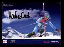 Marlies Oester Autogrammkarte Original Signiert Ski Alpine + A 162538