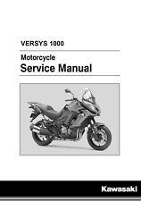 Kawasaki Versys 1000 & ABS 2015 2016 2017 service manual in binder