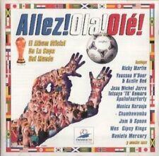 Allez! Ola! Olé! Youssou N'Dour & Axelle Red, Ricky Martin, Wes, Jean Mic.. [CD]