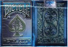 Metal Rider Back Blue Bicycle Playing Cards