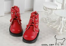 ☆╮Cool Cat╭☆【15-02】Blythe Pullip Doll Short Shoes # Red
