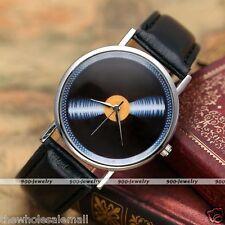 Fashion Long Play Style No Markers Dial Women Round Quartz Analog Wrist Watches