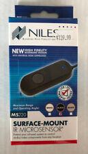 NIB NILES MS220 IR Surface Mount IR Microsensor FG01577 Black