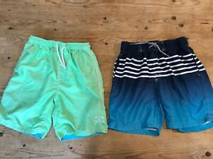 2 x boys swimming shorts age 10 next