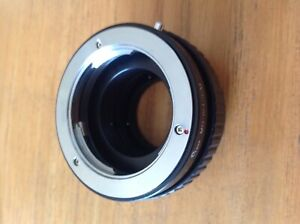 MD-M4/3 Minolta MD Lens to M4/3 M43 Micro Four Thirds Adapter Ring - UK Stock