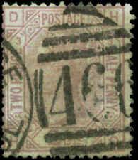 Great Britain Scott #66 Plate #3 Used