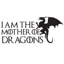 Mother of Dragons Game of Thrones Sticker, Car, Laptop, Phone, Wall Art Decal