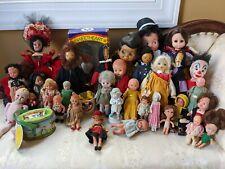 New ListingLot Of Vintage Dolls Miniature Bisque & Celluloid