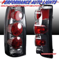 Set of Chrome Smoke Taillights for 88-99 GM C/K 1500 2500 3500 Yukon Suburban
