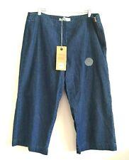 Women's Indigo Crop Jean Pants Size 16 BNWT WJean Rivers Denim