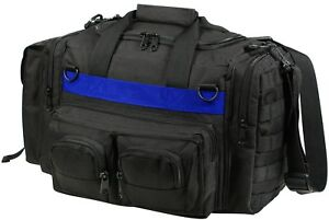 Thin Blue Line Black Tactical Concealed Carry Bag CCW Police Emergency Duty Gear