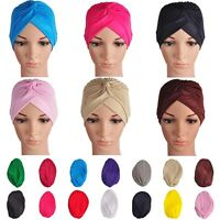 Indian Unisex Stretchable Arab Bonnet Hat Head Turban Wrap Women Mens Shower Cap