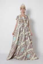 Adras Silk National Uzbek Traditional Original Long Dress SALE WAS $169.00