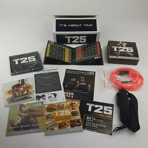 Beachbody Focus T25 Alpha Beta Gamma DVD BOX SET Workout