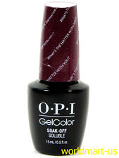 OPI GELCOLOR ALICE THROUGH THE LOOKING GLASS*GC BA3- What's the Hatter with You?
