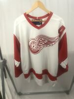 BRENDAN SHANAHAN #14 DETROIT RED WINGS CCM NHL JERSEY RED WHITE VTG SZ LARGE