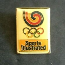 Vintage Sports Illustrated Olympics Pin Souvenir 1988