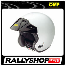Helmet OMP STAR size S M L XL Open Face Jet Club DRIFT RALLY TRACK DAY RACING