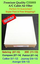 Sebring 200 / Adventure Caliber Journey / Compass Patriot AC Cabin Filter C25869
