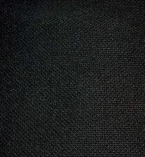 1500 mm. x 475 mm. BLACK LOUDSPEAKER  FABRIC CLOTH GRILLE FINE WEAVE