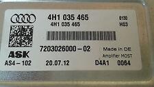 Audi A4 A6 A8 Q5 Q7 Verstärker B&O Bang & Olufsen Amplifier NEUWERTIG 4H1035465