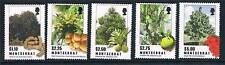 Montserrat 2010 Tropical Trees 5v set MNH