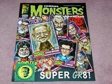 FAMOUS MONSTERS # 257 STICKER Monster Kids - rare STICKER version, NICE copy!