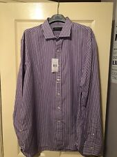 Ralph Lauren Striped Shirt - Purple/White - Size 17
