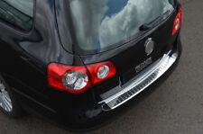 For Volkswagen Passat Estate B6 (2005-10) - Chrome Rear Bumper Protector Guard