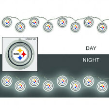 Pittsburgh Steelers String Lights Man Cave Decorations NFL Football Licensed