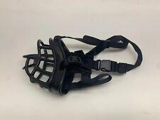 Strong Rubber Basket Dog K-9 Muzzle Medical Training Size Large
