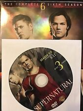 Supernatural - Season 6, Disc 3 REPLACEMENT DISC (not full season)