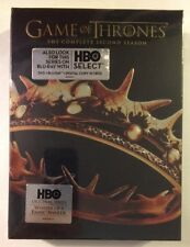 GAME OF THRONES: Complete Second   Season - MINT NEW 5-DISC DVD SET!!