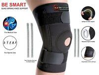 BS Neoprene Patella stabilising Brace Knee Belt Springs Support Adjustable Strap