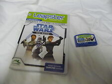Leapster Cartridge STAR WARS JEDI MATHS Works on all Leapster systems EUC