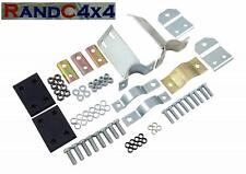 239717 Land Rover Series 3 2.25 SWB Exhaust Hanger Full Fitting Kit inc Rubbers