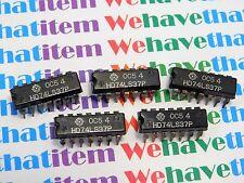 HD74LS37P / IC  / DIP / 5 PIECES (qzty)