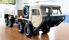 New Version 1/10 8x8 Oshkosho Military Cargo Truck Plastic Body Shell Unpainted