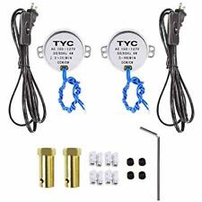 Synchronous Turntable Motor Electric For Cup Turner, Cuptisserie, Tumbler With -