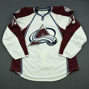 2013-14 Michael Clarke Colorado Avalanche Game Issued Reebok Hockey Jersey NHL