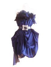 VINTAGE HARAH  feather drape 50'S DRESS 6-8-10-12-14-16