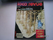 **b Loco revue n°545 Une grue ferrioviaire en G / La CC 21002 Jouef en HO