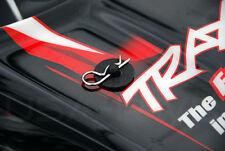 4-PCS : BLACK RC BODY POST WASHERS 1/10 SCALE TRAXAS SAVERS  FITS TRAXXAS SLASH!