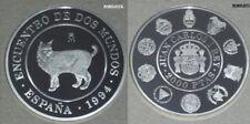 "ESPAÑA 1994. 2000 pesetas ""LINCE IBERICO"" Dos Mundos. 2ª SERIE IBEROAMERICANA."