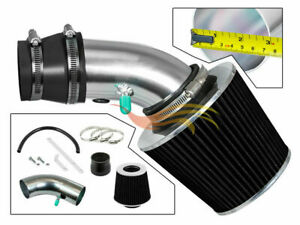 RW BLACK Ram Air Intake Kit+Filter For 90-97 Toyota Corolla Prizm 1.6/1.8 L4