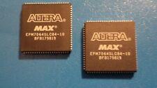ALTERA EPM7064SLC84-10 EEPROM PROGRAMMABLE DEVICE 84 PINS  QTY  =  2