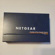 NETGEAR PROSAFE 8 PORT GIGABIT SMART SWITCH GS108 v2